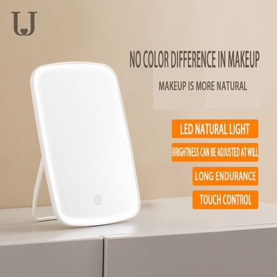 USB Charging Small Led Touch Screen Women Foldable Led Makeup Mirror Lights Lamps  Led Lighted Rechargeable Makeup Mirror