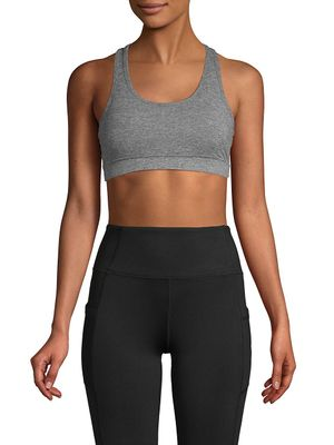 X by Gottex Cutout Racerback Sports Bra