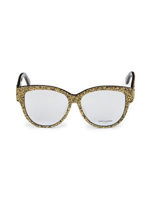 Saint Laurent 55MM Square Optical Glasses