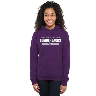 Stephen F Austin Lumberjacks Women's Team Strong Pullover Hoodie - Purple