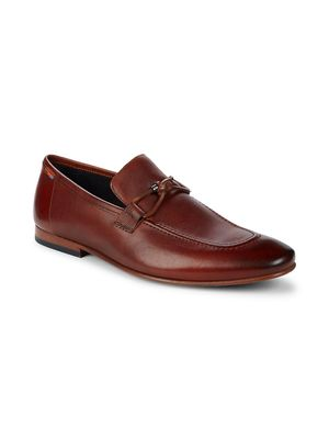 Ted Baker London Slip-On Leather Loafers