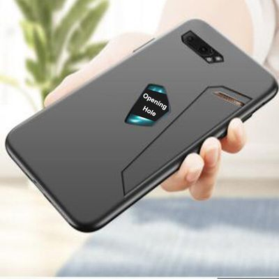 Asus ROG Phone2 ZS660KL Asus_I001D Case Full Protection Soft Matte Silicone Cover for ROG Phone II 2 Case Soft TPU Shockproof