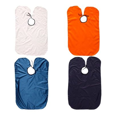 Brand Kids Shampoo Cap Waterproof Hair Cutting Apron Gown Hairdressing Barbers Cape Gown Cloth Random Color