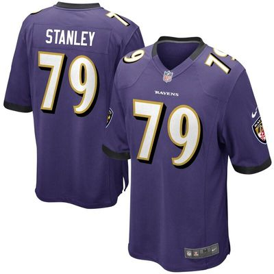 Ronnie Stanley Baltimore Ravens Nike Game Jersey - Purple