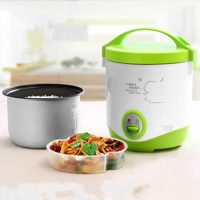 Lotor Mini Portable Multi Electric Rice Cooker 1L Stainless Steel Soup Cooker
