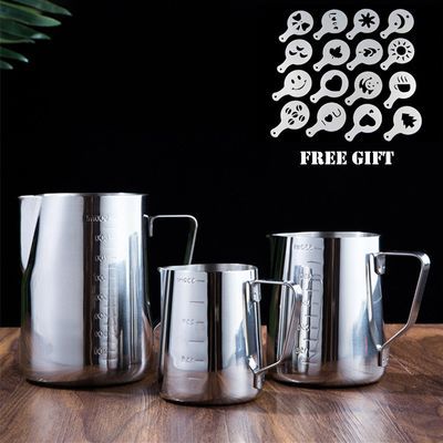 Multisize Stainless Steel Coffee Stencils Cup Garland Pot Art Barista Tools Coffee Accessories Easy Going Coffee Stencil Mold