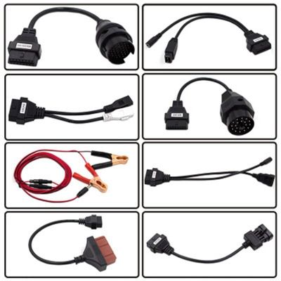 8PCS Car Diagnostic Tool Cable OBD2 Interface Car Diagnostic Cable and Connector For Delphi For Autocom Cdp Pro