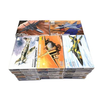 1/144 Scale Minicraft Models 4d Plastic Assembly Aircraft Model kit 27 Kinds Fighters to Choose children's Assembling toys
