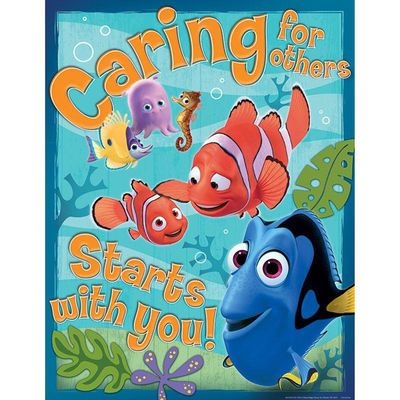 FINDING NEMO CARING FOR OTHERS 17X22 POSTER
