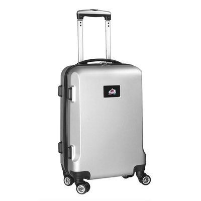 Colorado Avalanche 20In 8-Wheel Hardcase Spinner Carry-On - Silver
