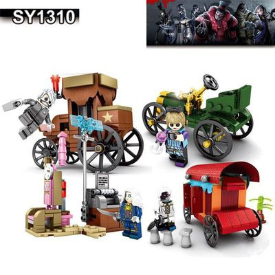 compatible game Joseph Soul of the Umbrella Xie Bi'an Isokal Photographer Snow Machinery factory Assemble blocks toy