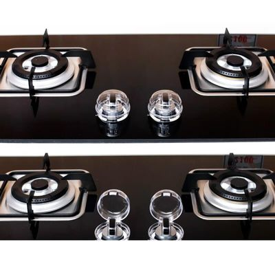 2 Pcs/Lot Dropship Clear Kitchen Stove Gas Knob Covers Protector Gas Child Safety Locks