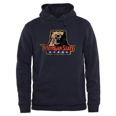 Morgan State Bears Classic Primary Pullover Hoodie - Navy