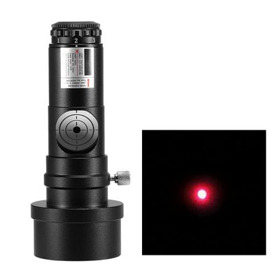 1.25IN Telescope Collimator 2INCH Adapter Reflector Telescope Newtonian SCA Laser Collimation 7 Brightness Level Astronomical