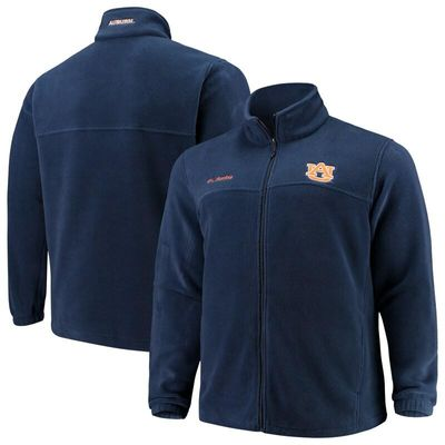 Auburn Tigers Columbia Big & Tall Flanker II Full Zip Jacket - Navy