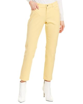 ESCADA SPORT Yellow Cropped Jegging
