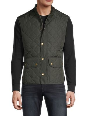 Barbour Stand Collar Quilted Vest