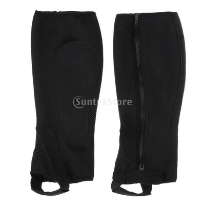 Equestrian Gaiters Half Chaps Horse Riding Boots Cover Leg Guard Gear for Adults Children Outdoor Horse Riding
