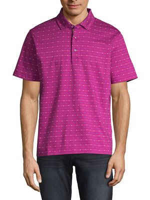 Robert Graham Bedstuy Classic-Fit Printed Cotton Polo