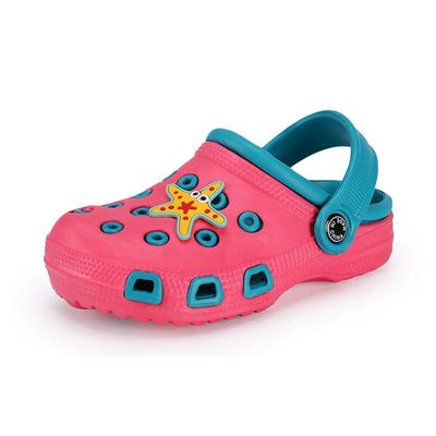 Girls Shoes Boys Clogs Baby Garden Shoes Cute Cartoon Kids Sandals EVA Water Shoes Breathable Toddler Shoes Girl Slippers