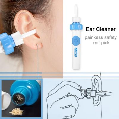 Ear Wax Vac Vacuum Ear Cleaner Machine Electronic Cleaning Ear Wax Remove Removes Earpick Ear Cleaning Tool