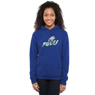 Florida Gulf Coast Eagles Women's Classic Primary Pullover Hoodie - Royal Blue