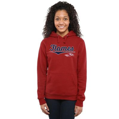 Liberty Flames Women's American Classic Pullover Hoodie - Red