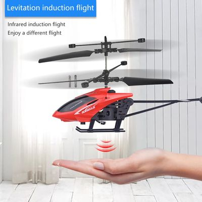 quadrocopter with camera Mini RC Infraed Induction Helicopter Aircraft Flashing Light Toys Gift Dedicated Camera Compatible