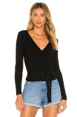 Privacy Please Jamison Wrap Sweater