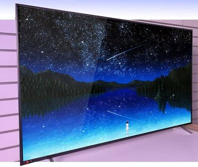 75 Inch Big monitor 4K display screen and multi language Smart Android LCD LED wifi IP dvb-t2 TV television TV