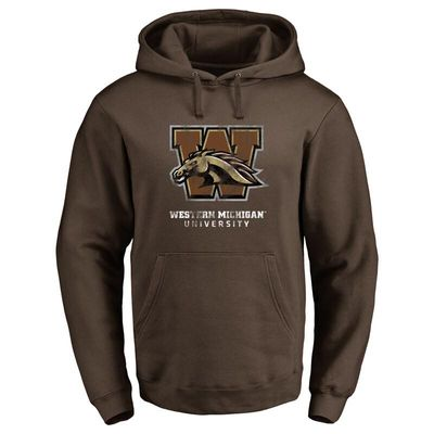 Western Michigan Broncos Classic Primary Pullover Hoodie - Brown