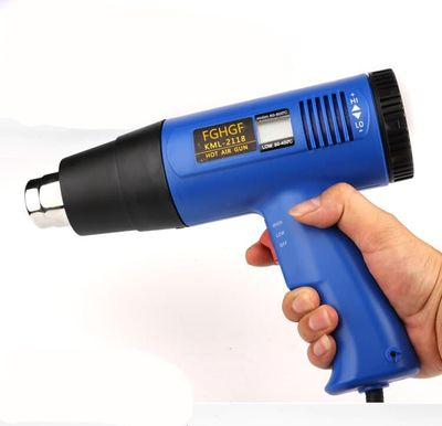 2000W AC220 LODESTAR Digital Electric Hot Air Gun Temperature-controlled Heat IC SMD Quality Welding Tools Adjustable