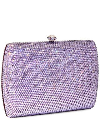 Dolli Double Sided Sage Crystal Clutch