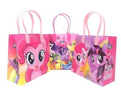 12PCS Hasbro My Little Pony Goodie Party Favor Gift Birthday Loot Bags