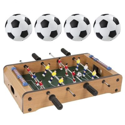 4 PCS Mini Plastic Games Soccer Table Sport Gifts Round Indoor Games Kid Toys Durable Football