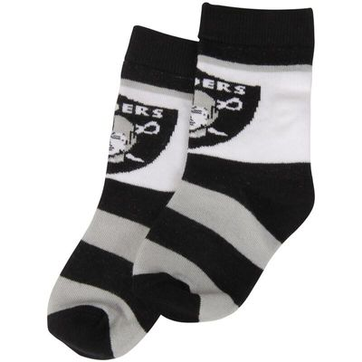 Las Vegas Raiders For Bare Feet Toddler Rugby Block Socks