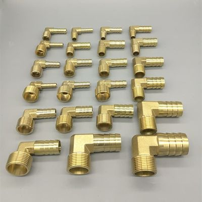 Brass Hose Barb Fitting Elbow 6mm 8mm 10mm 12mm 16mm To 1/4 1/8 1/2 3/8