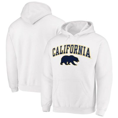 Fanatics Branded Cal Bears Campus Pullover Hoodie - White