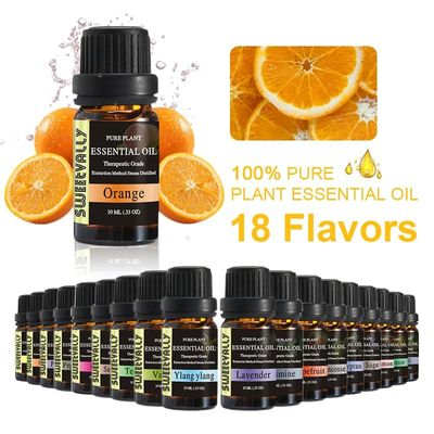 Sweetvally Essential Oil Pure Plant Essential Oils For Aromatherapy Diffusers Aroma Tea Tree Oil Natural Air Care