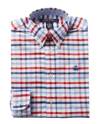 Brooks Brothers Plaid Dress Shirt