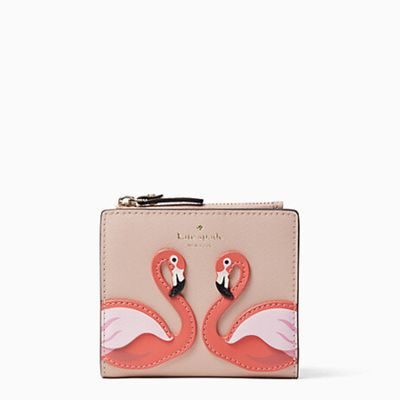 Kate Spade By The Pool Small Zip Bifold Wallet