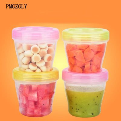 Baby Portable bean Box Milk Powder Formula Dispenser Baby Kids Toddler Food Containers Storage Formula Milk Storage Feeding
