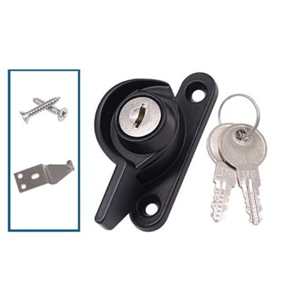 Anti Theft Crescent Locks Keys Security For Windows Cabinet Doors Drawers Tool