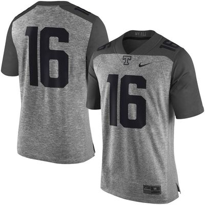 Tennessee Volunteers Nike Gridiron Gray Limited Football Jersey - Heather Gray