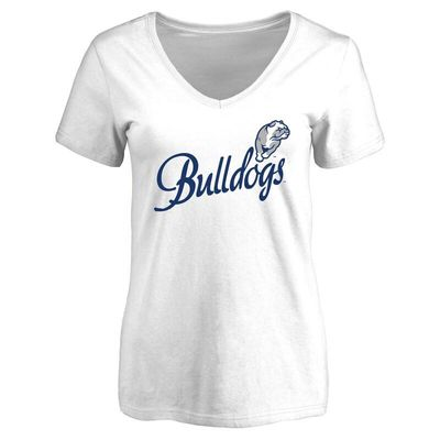 Drake Bulldogs Women's Dora T-Shirt - White