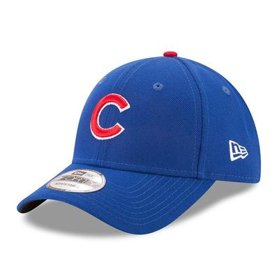 Chicago Cubs New Era Men's League 9Forty Adjustable Hat - Royal