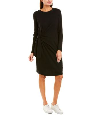 Vince Side Tie T-Shirt Dress