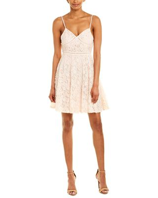 Ethereal By Paper Crane Lace A-Line Dress