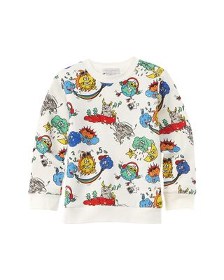 Stella McCartney Eyes Print Sweatshirt