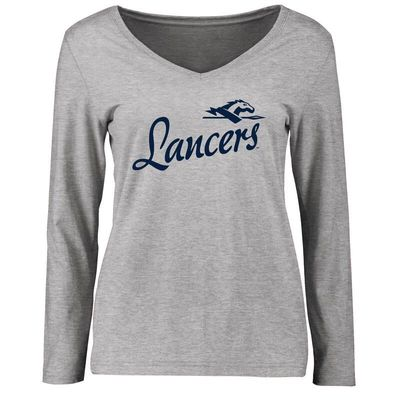 Longwood Lancers Women's Dora Long Sleeve T-Shirt - Ash